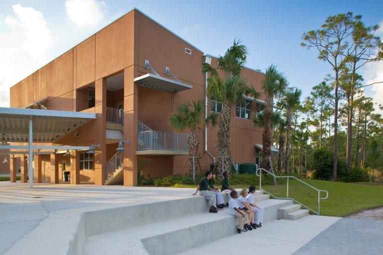 Pine Jog Elementary School architecture